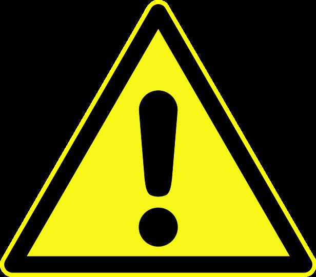 Caution Symbols.
