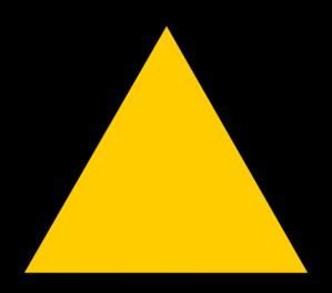 Empty Warning Symbol Clip Art at Clker.com.
