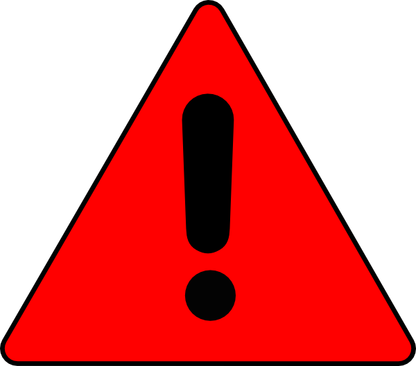 Warning Triangle Clip Art at Clker.com.