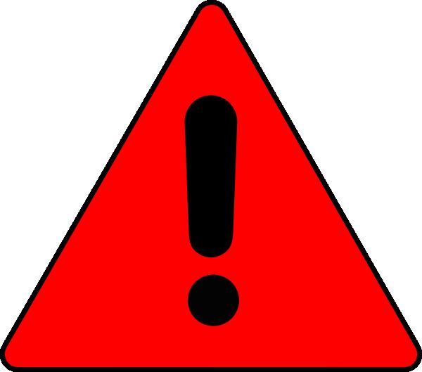 Warning Triangle Clip Art at Clker.com.