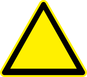 Clipart Warning Triangle.
