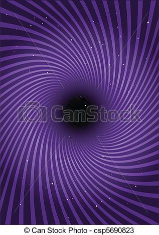 Vectors of Warp tunnel purple walls csp5690823.