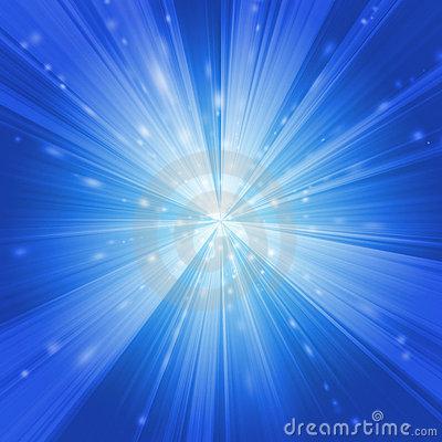 Neon Warp Stock Image.