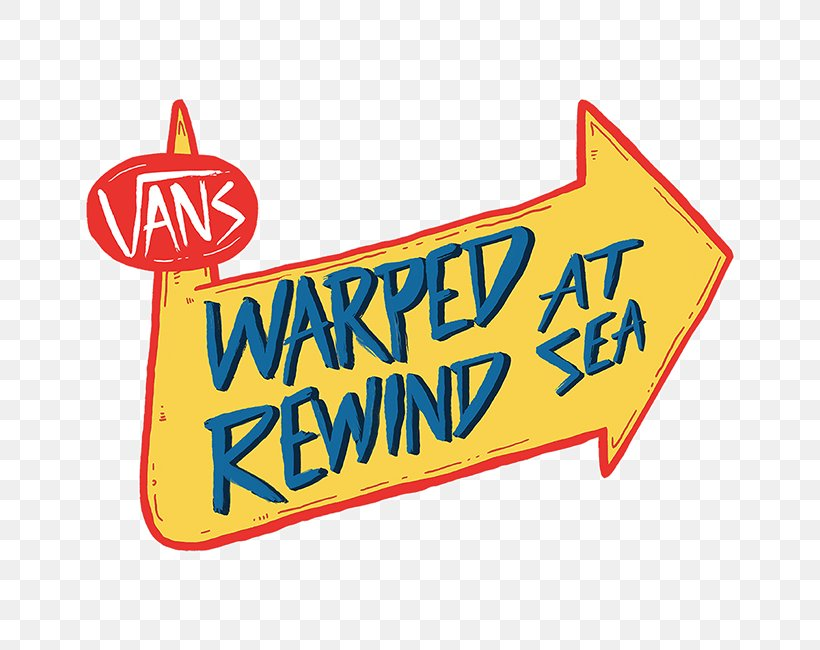 Warped Tour Logo Rock Festival Vans, PNG, 650x650px, Warped.