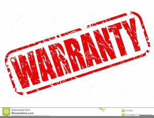 Warrant Clipart.