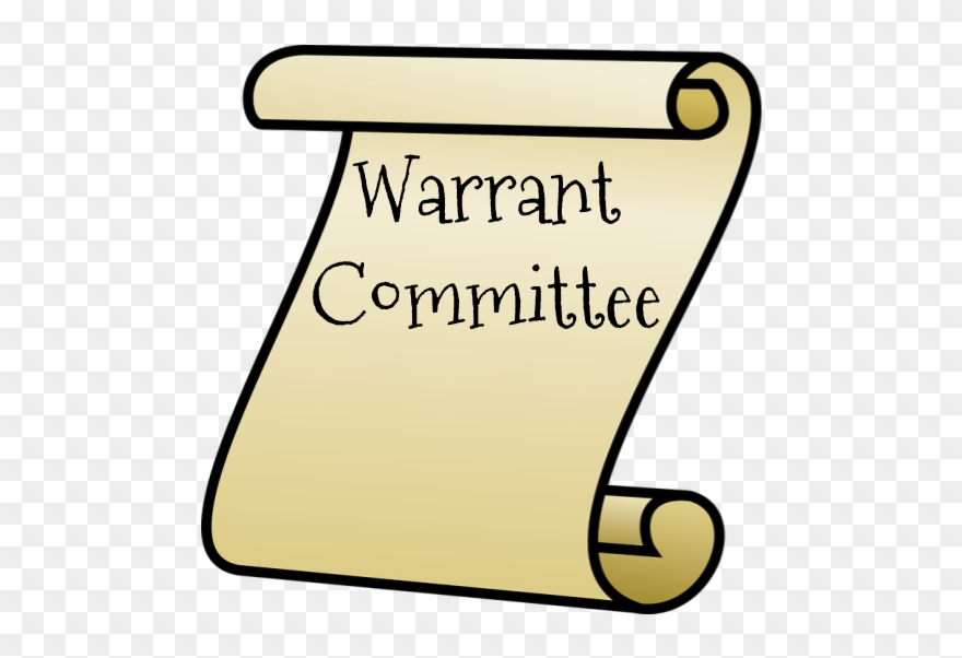 Warrant Committee Election Clipart (#3035773).