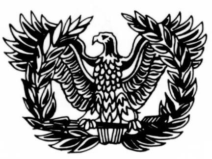 Warrant officer rising eagle Logos.