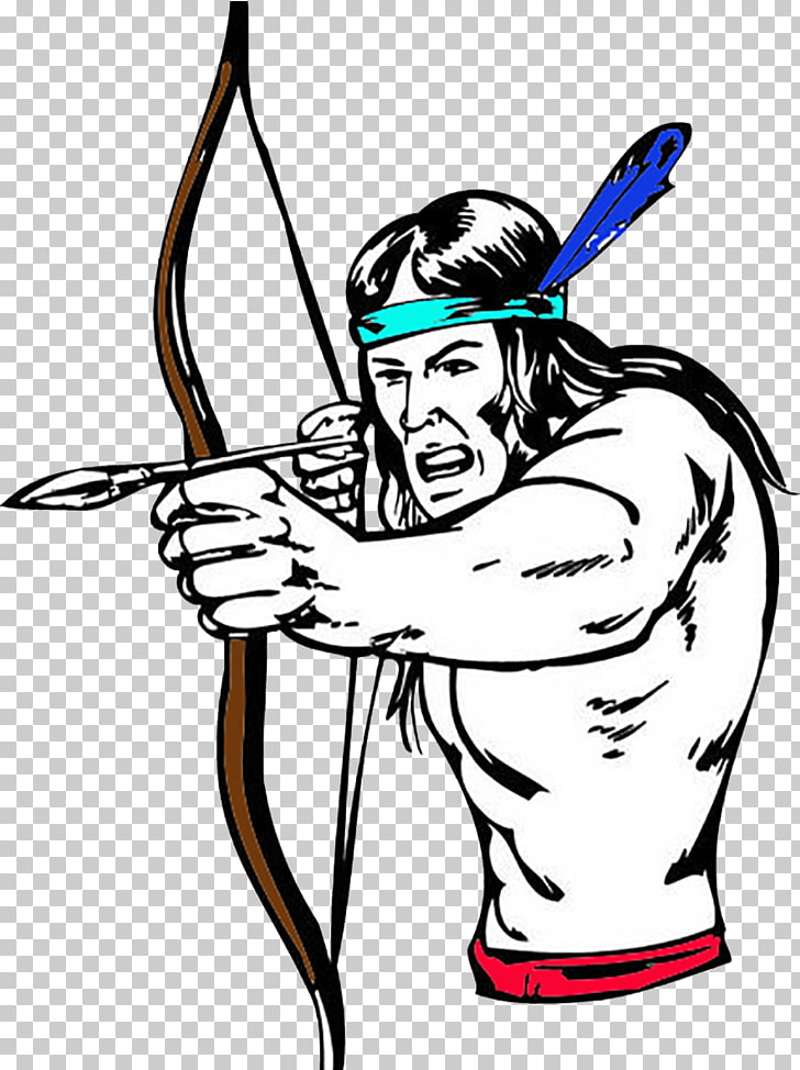 Bow and arrow Native Americans in the United States Sticker.