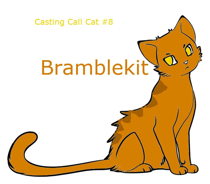 Warrior Cats Casting Call Cat #8.