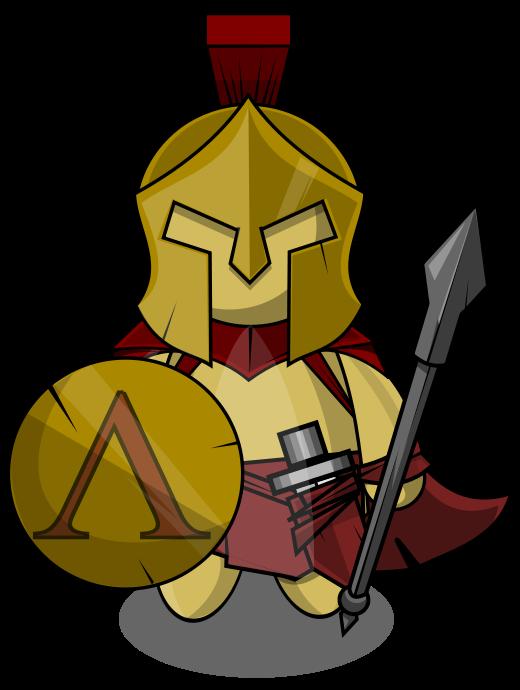 Free Warrior Clip Art.