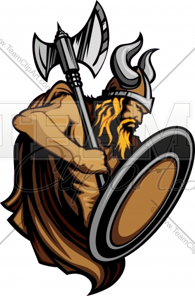 Viking Logo Clipart Image. Easy to Edit Vector Format..