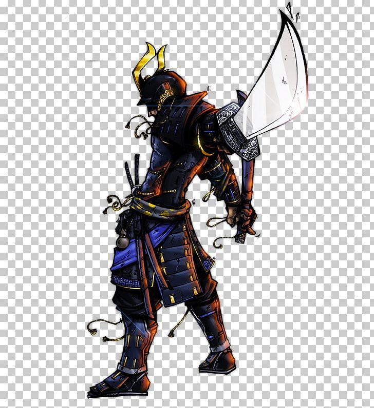 Samurai Tattoo Japanese Armour Art Warrior PNG, Clipart.