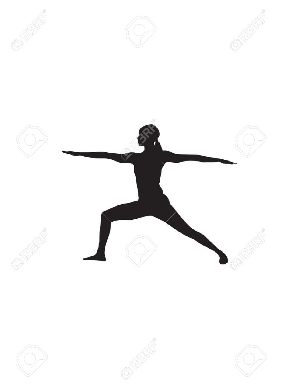 Yoga Position Illustration Royalty Free Cliparts, Vectors, And.