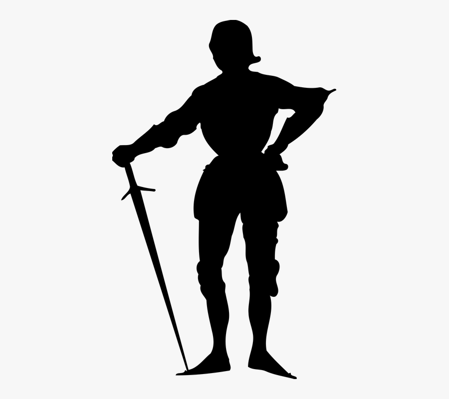 Warrior Silhouette Png.
