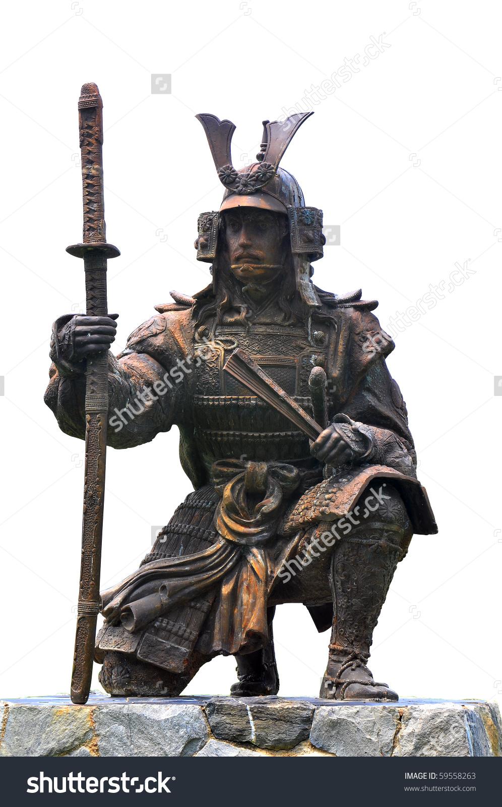 Statue Chinese Warrior Stock Photo 59558263.