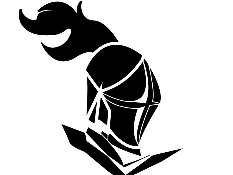 Warrior clipart black and white, Warrior black and white.
