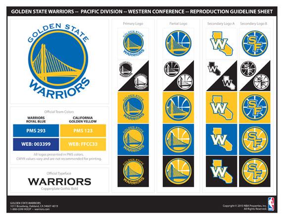 Brand New: Not so Golden State Warriors.
