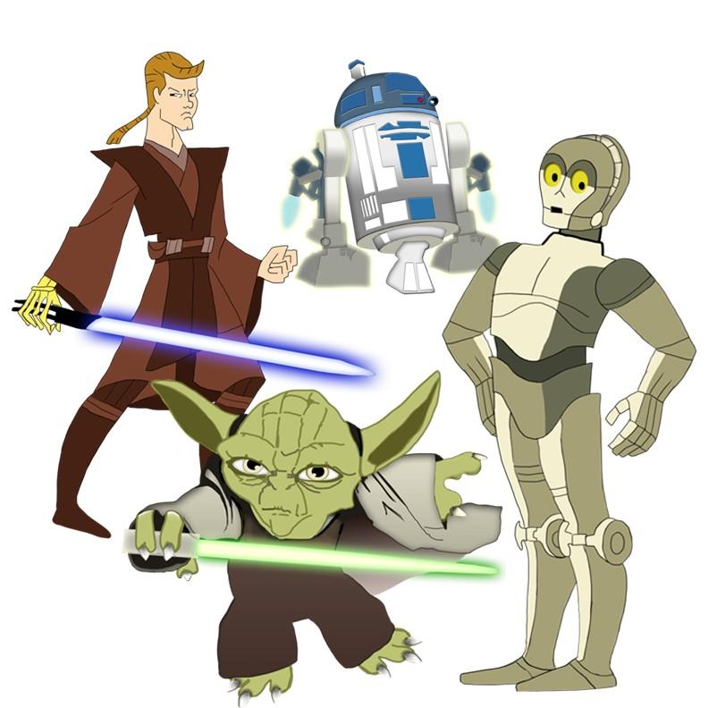 70 Free Star Wars Clip Art.