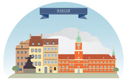 Warsaw Stock Illustrations.