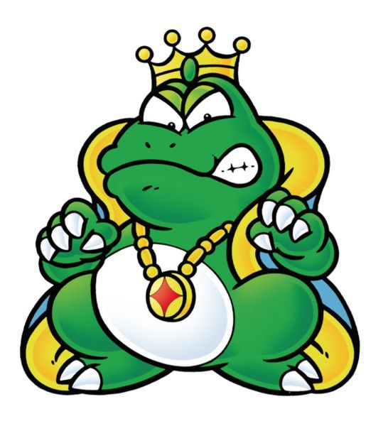 Wart, as he appears in Super Mario Bros. 2..
