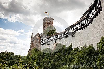 Wartburg Castle Stock Photo.