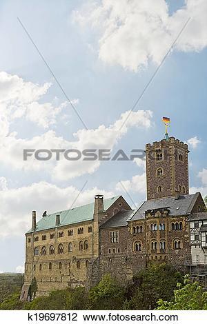 Stock Photo of Wartburg Castle k19697812.