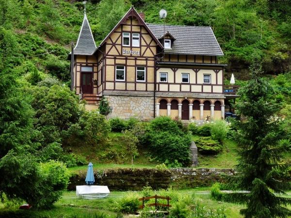 Home wartburg castle in saxon switzerland building Free stock.