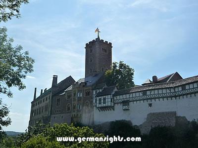 Wartburg Castle, Germany.