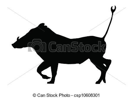 Warthog Vector Clipart EPS Images. 290 Warthog clip art vector.