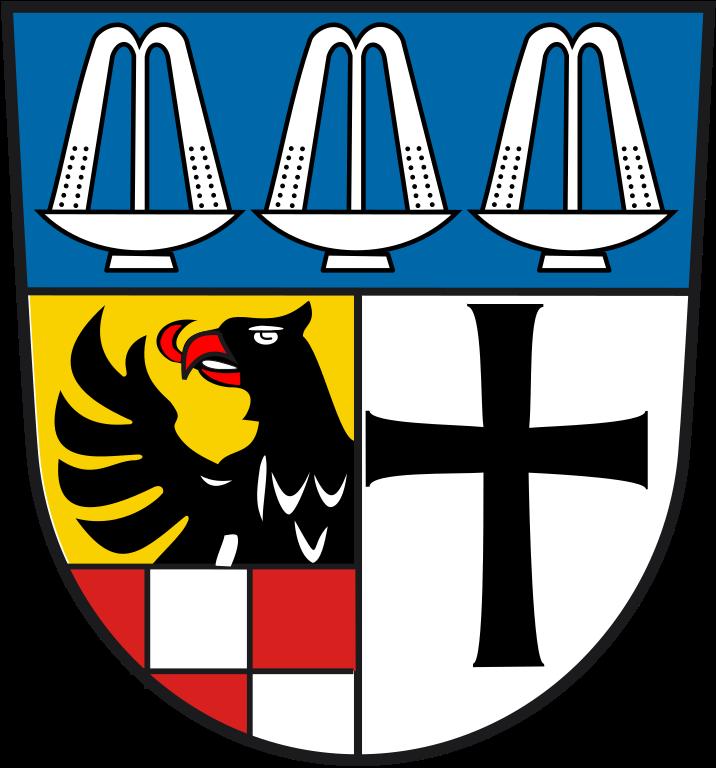 File:Wappen Landkreis Bad Kissingen.svg.