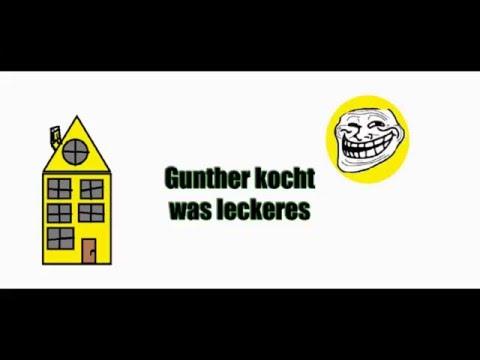Gunther kocht was leckeres.