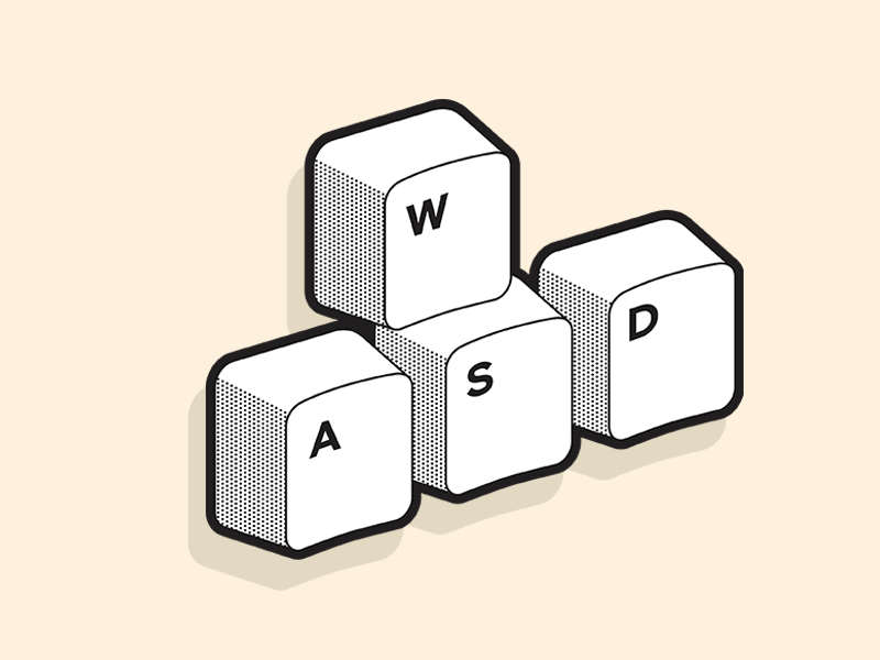 Wasd by kayou on Dribbble.