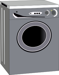 Washing Machine Clip Art at Clker.com.