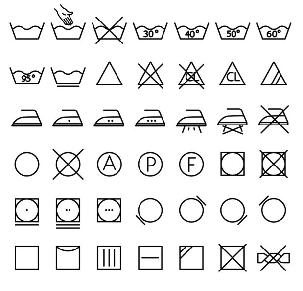 5 Laundry Symbols and Their Meanings.