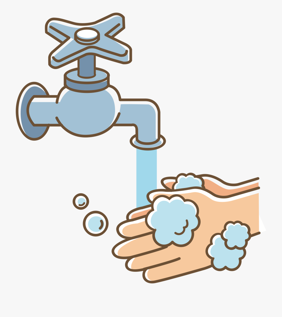 Washing Hand Clipart.