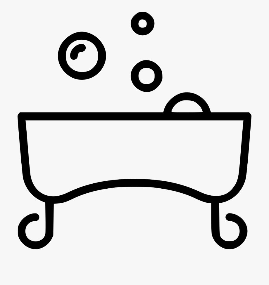 Tub Bathroom Wash Svg.