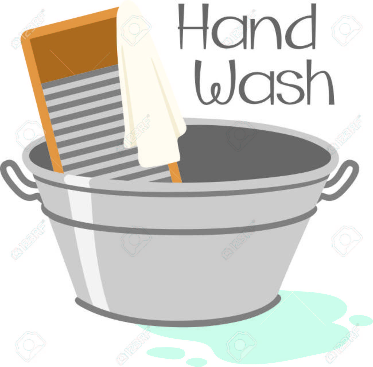 Wash tub clipart 5 » Clipart Portal.