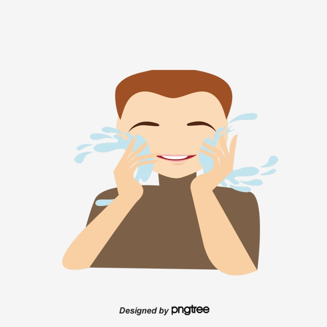 Wash Your Face PNG Images.