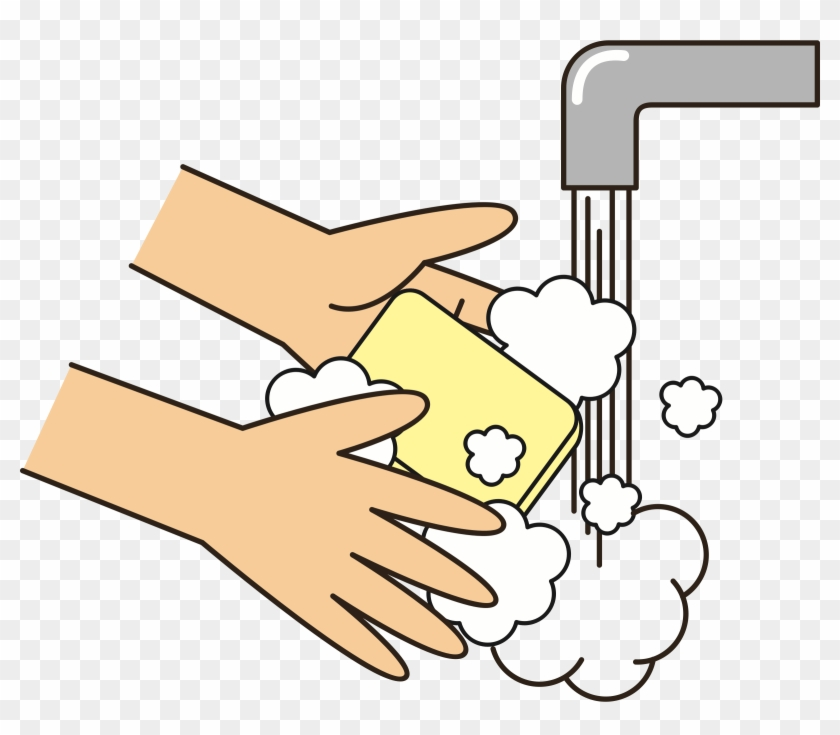 Wash Your Hands With Soap Icons Png.