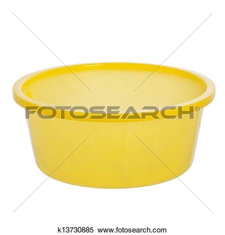 Stock Image of plastic wash bowl k13730885.