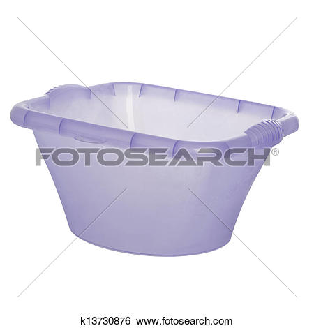 Stock Images of plastic wash bowl k13730876.