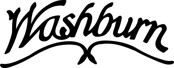 Washburn Guitars Decal / Sticker 01.