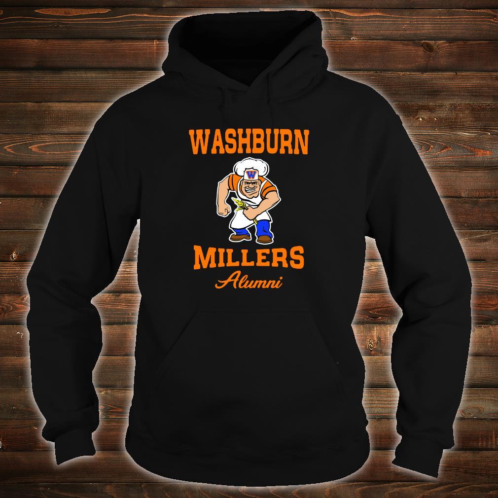 Washburn Millers alumni shirt.