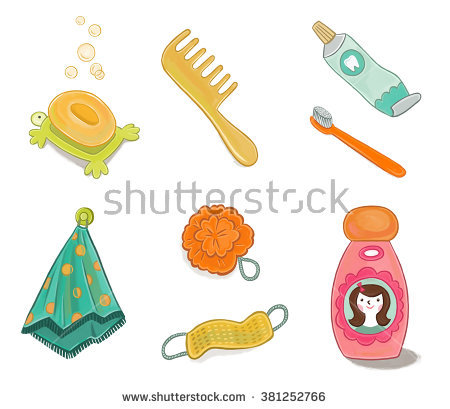 Washcloth Stock Images, Royalty.