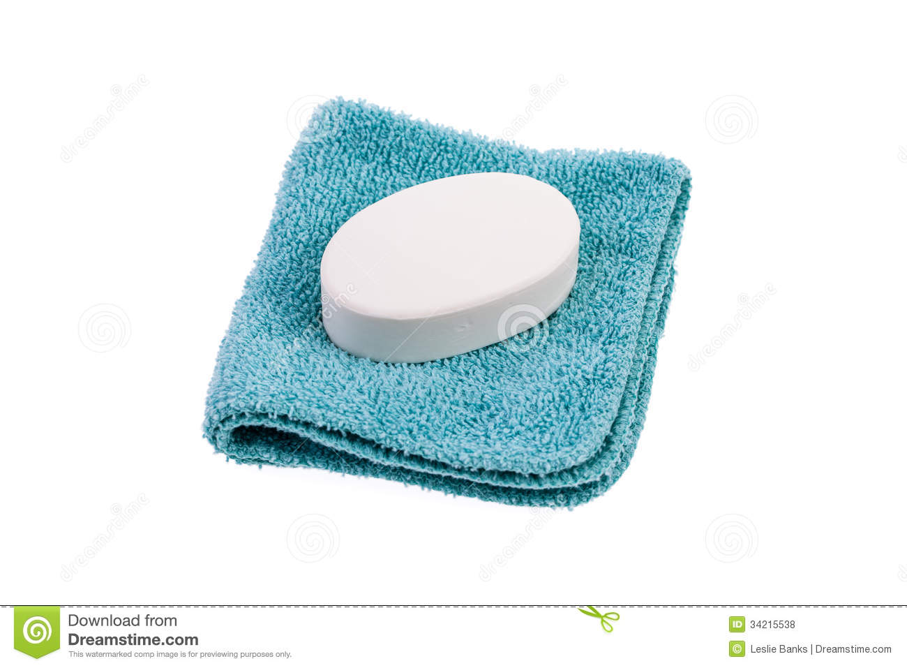 Washcloth Clipart.