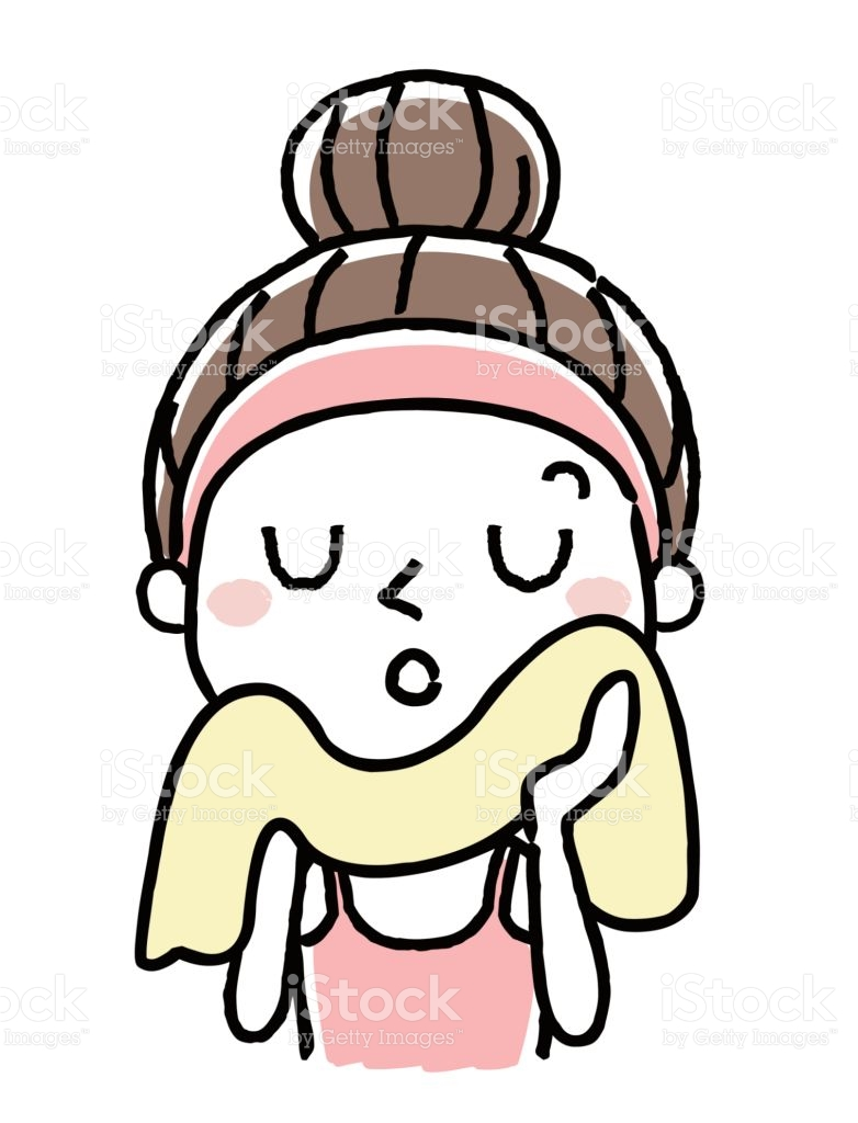 444 Towel free clipart.