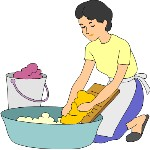 Wash Cloth Free Clipart.