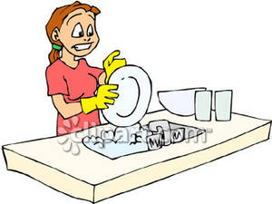 washing.