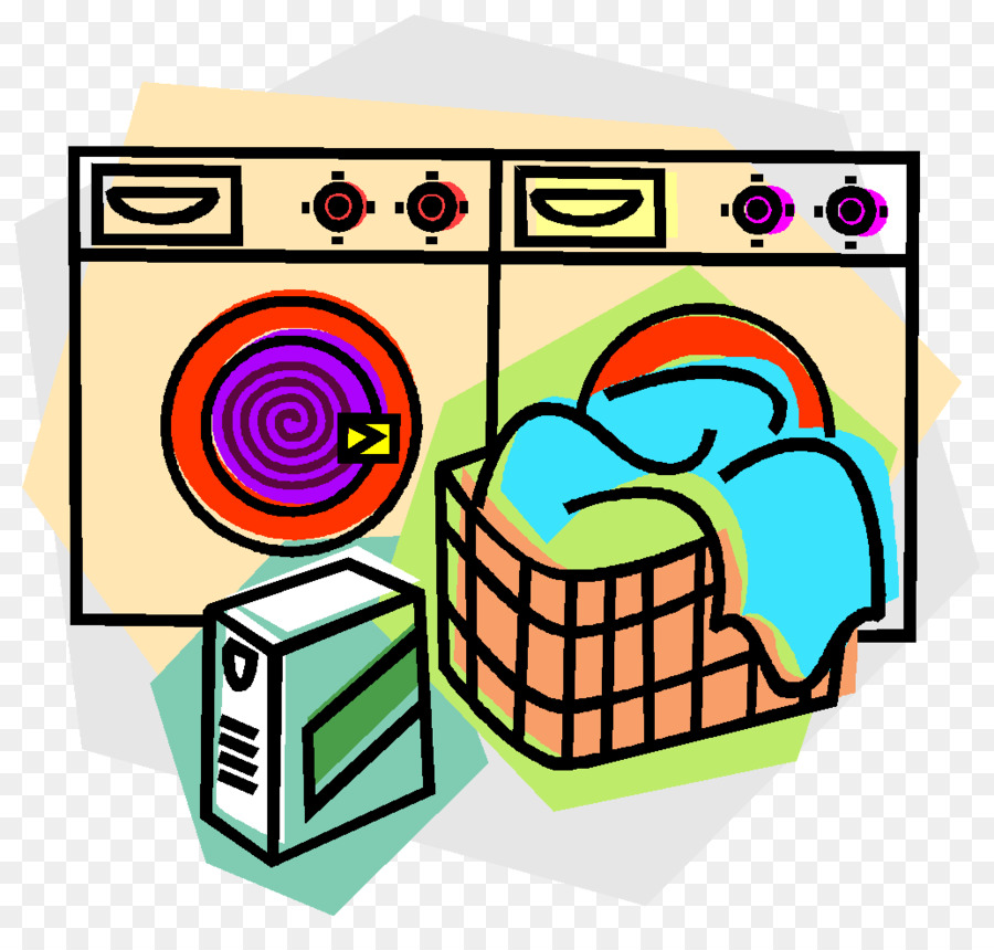Animation Laundry Clip art.