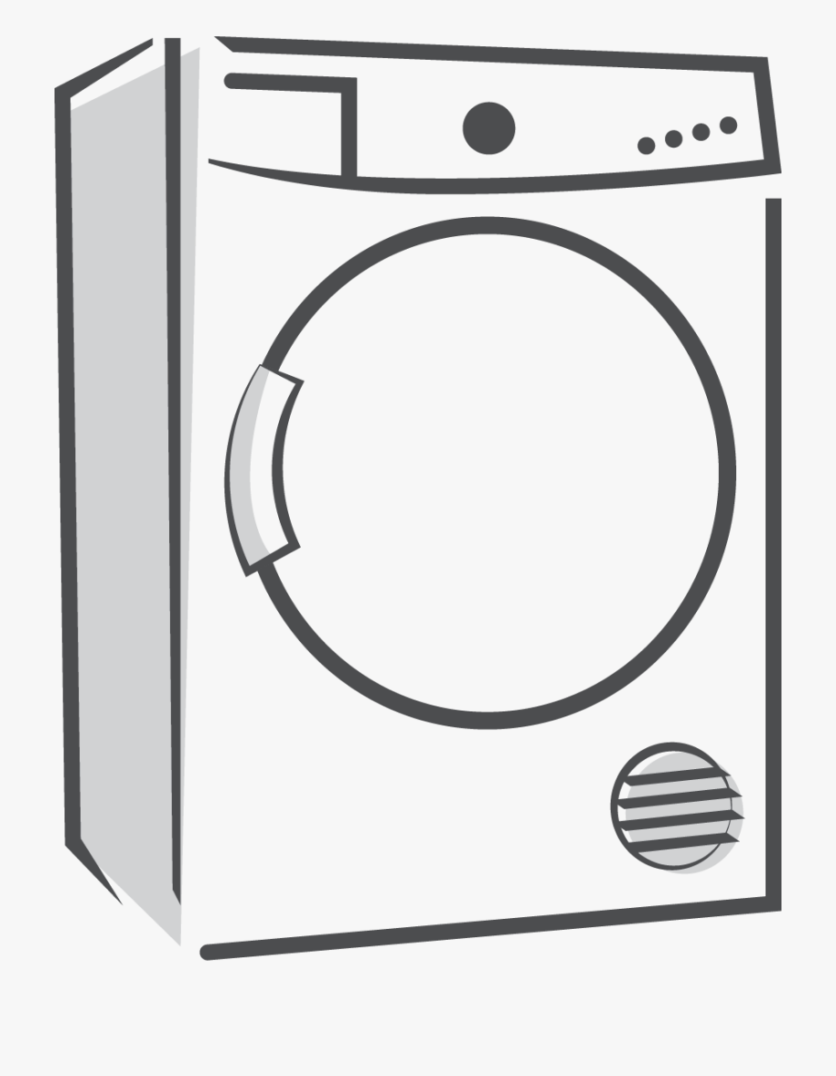 Transparent Background Washing Machine Clipart , Transparent.